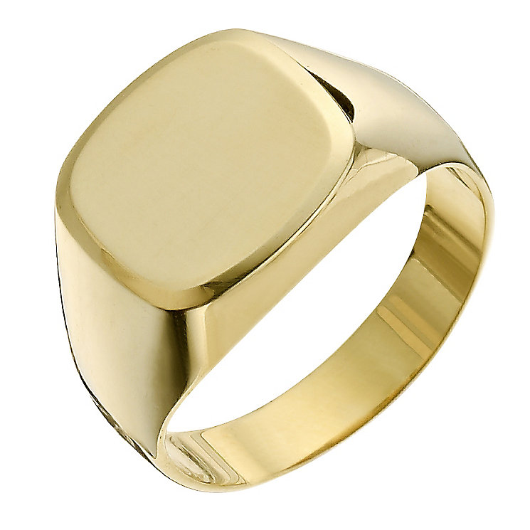 Together Bonded Silver & 9ct Yellow Gold Men's Ring - Product number 9289909