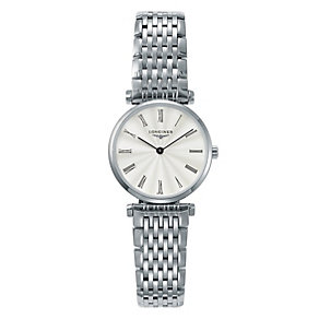 Longines ladies' stainless steel bracelet watch - Product number 9290745