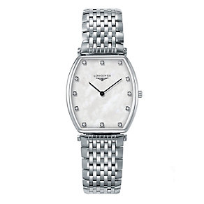Longines men's stainless steel bracelet watch. - Product number 9290753