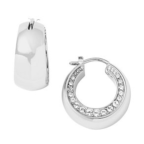 DKNY ladies' stainless steel stone set earrings - Product number 9293612