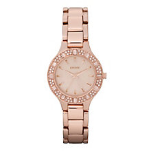 Dkny Ladies' Rose-Gold Tone Bracelet Watch - Product number 9294244