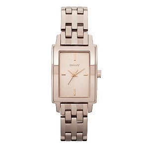 DKNY ladies' rose gold plated bracelet watch - Product number 9294252