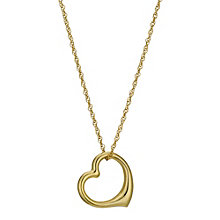 Together Bonded Silver & Gold Heart Pendant - Product number 9294295