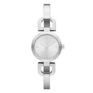DKNY ladies' stainless steel bangle watch - Product number 9294414