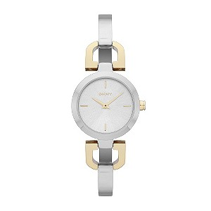 DKNY ladies' two colour bangle watch - Product number 9294430