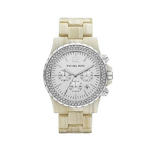 Michael Kors stainless steel & cream bracelet watch - Product number 9294627