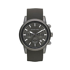 Michael Kors men's grey strap watch - Product number 9294651