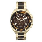 Michael Kors gold plated & tortoise shell bracelet watch - Product number 9294678