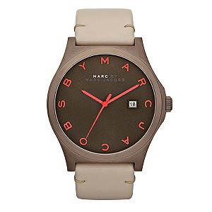 Marc By Marc Jacobs brown ion plated & grey strap watch - Product number 9294848