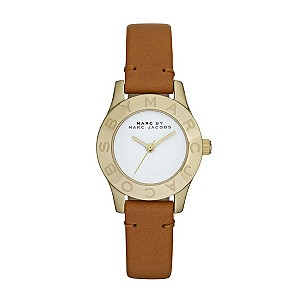 Exclusive Marc By Marc Jacobs tan leather strap watch - Product number 9294953