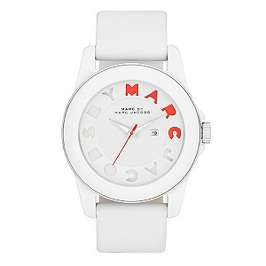 Marc By Marc Jacobs ladies' white silicone strap watch - Product number 9294996
