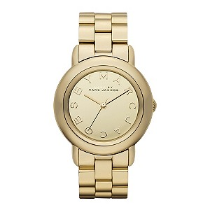 Marc By Marc Jacobs gold-plated bracelet watch - Product number 9295038