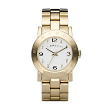 Marc Jacobs Ladies' Gold Tone Bracelet Watch - Product number 9295046