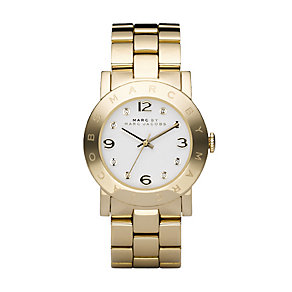 Marc By Marc Jacobs ladies' gold-plated bracelet watch - Product number 9295046
