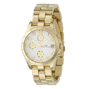 Marc By Marc Jacobs ladies' gold-plated bracelet watch - Product number 9295054