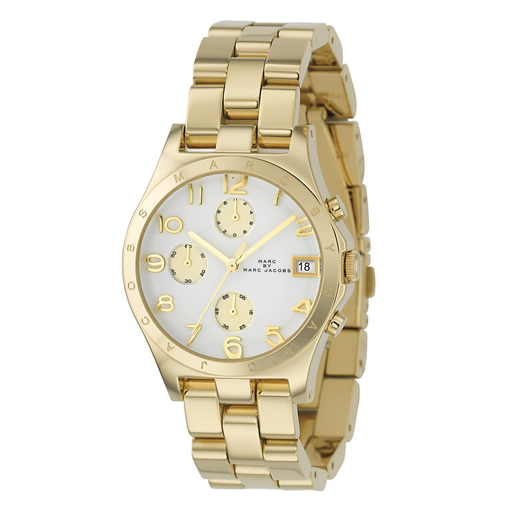 Marc Jacobs Ladies' Gold Tone Bracelet Watch - Product number 9295054
