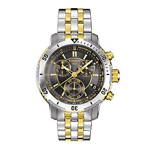 Tissot PRS200 men's stainless steel bracelet watch - Product number 9295852