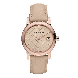 Burberry ladies' nude strap watch - Product number 9297987