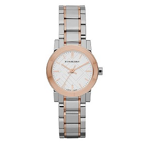 Burberry ladies' two coloured bracelet watch - Product number 9298010