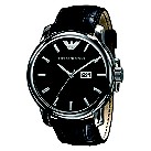 Emporio Armani black strap watch - Product number 9298304