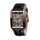 Emporio Armani Meccanico rectangular skeleton dial watch - Product number 9298363