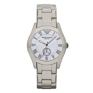 Emporio Armani ladies' ceramic bracelet watch - Product number 9298517
