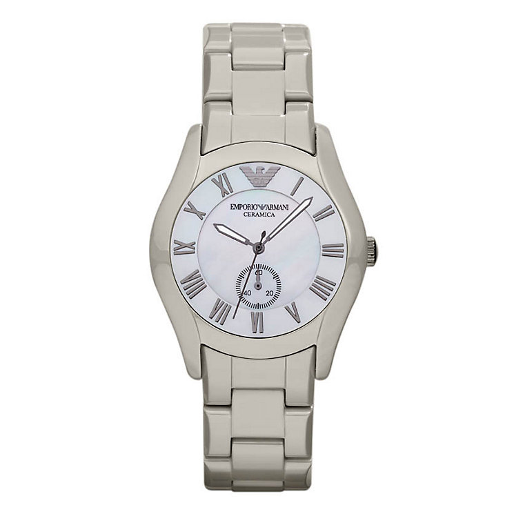 Emporio Armani ladies' ceramic bracelet watch - Product number 9298517