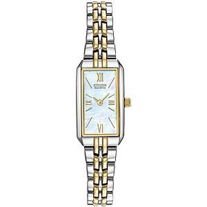 Citizen Eco-Drive ladies' two tone bracelet watch - Product number 9299475