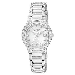Citizen Eco-Drive ladies' stainless steel bracelet watch - Product number 9299483