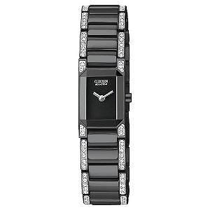 Citizen ladies' black ion plated bracelet watch - Product number 9299548