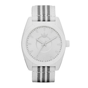 Adidas Santiago Men's White & Grey Strap Watch - Product number 9301933