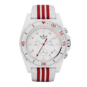 Adidas Stockholm Red & White Chronograph Watch - Product number 9302018