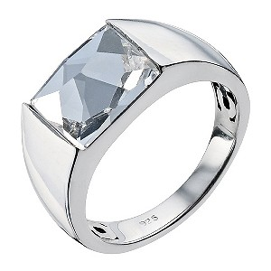 Northern Lights Silver & Crystal Ring - Size M - Product number 9303146