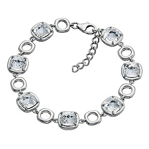 Northern Lights Silver Square Link Bracelet - Product number 9303170