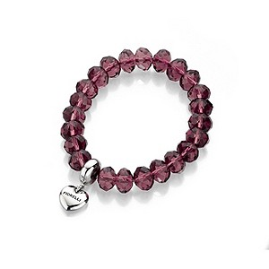 Fiorelli Purple Crystal Beaded Bracelet - Product number 9303278