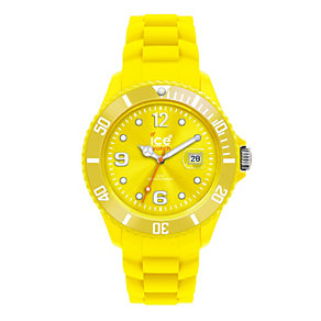 Ice-Watch Ladies' Yellow Silicone Strap Watch - Product number 9303553