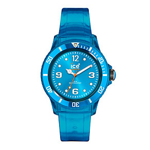 Ice-Watch Men's Blue Jelly Strap Watch - Product number 9303561