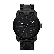 Diesel Men's Double Down 46 Black Bracelet Watch - Product number 9303642