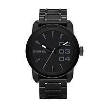 Diesel Men's Double Down 46 Black Bracelet Watch - Product number 9303642