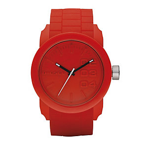 Diesel Red Strap Watch - Product number 9303669