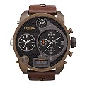 Diesel Men's Brown Strap Oversized Watch - Product number 9303731