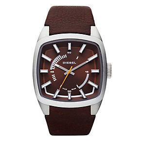 Diesel Men's Brown Strap Watch - Product number 9303782