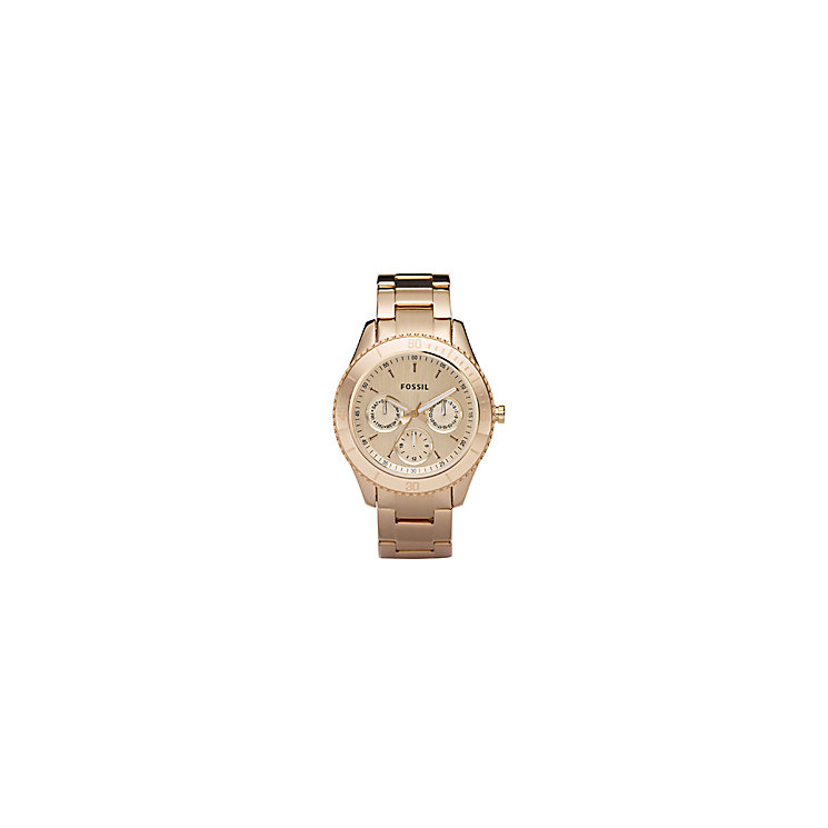 Fossil Stella Rose Gold Ion Plated Bracelet Watch - Product number 9304630