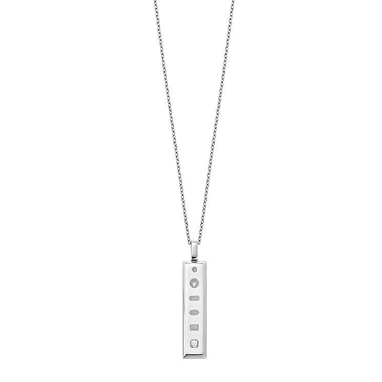 Amanda Wakeley Jubilee silver ingot pendant - Product number 9306471