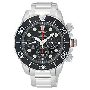 Seiko men's stainless steel chronograph watch - Product number 9308350