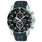 Seiko men's black strap diver's watch - Product number 9308385