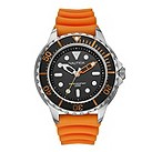 Nautica men's exclusive orange diver's watch - Product number 9312390