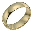 18ct yellow 8mm gold super heavy court ring - Product number 9318224
