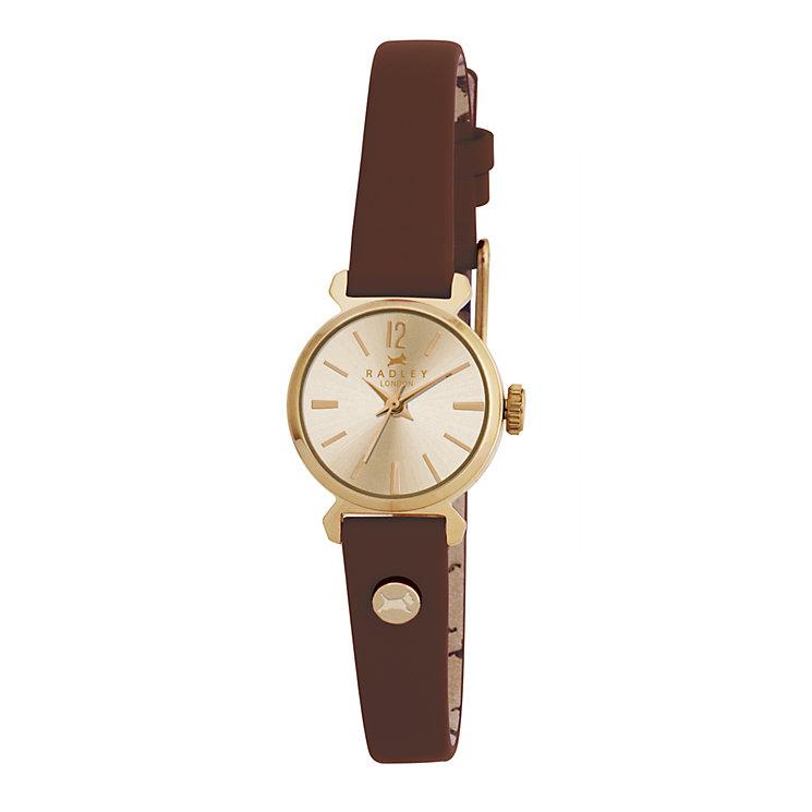 Radley Ladies' Brown Strap Watch - Product number 9321993