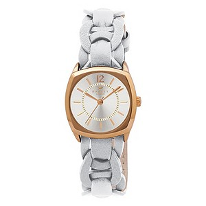 Radley Ladies' Gold Plated & White Strap Watch - Product number 9322086